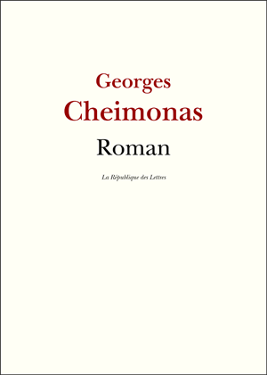 Biographie Georges Cheimonas