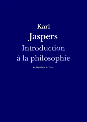 Karl Jaspers, Introduction à la Philosophie