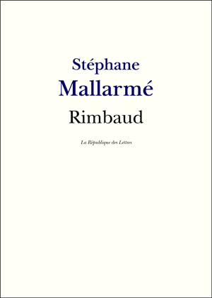 Biographie St�phane Mallarm�