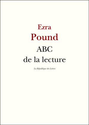 Ezra Pound ABC de la lecture