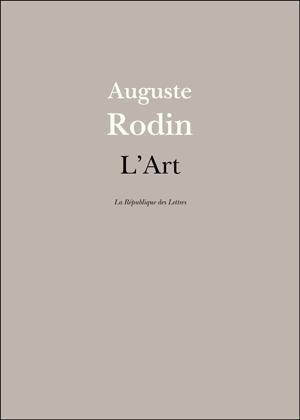Rodin L'Art