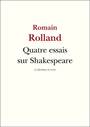 Biographie Romain Rolland
