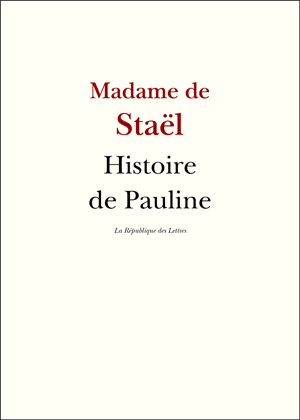 Biographie Madame de Staël